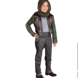 Girls Jyn Erso Costume - Star Wars Rogue One Med